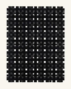 Corsin Fontana, Ohne Titel 1, 2014. Holzschnitt