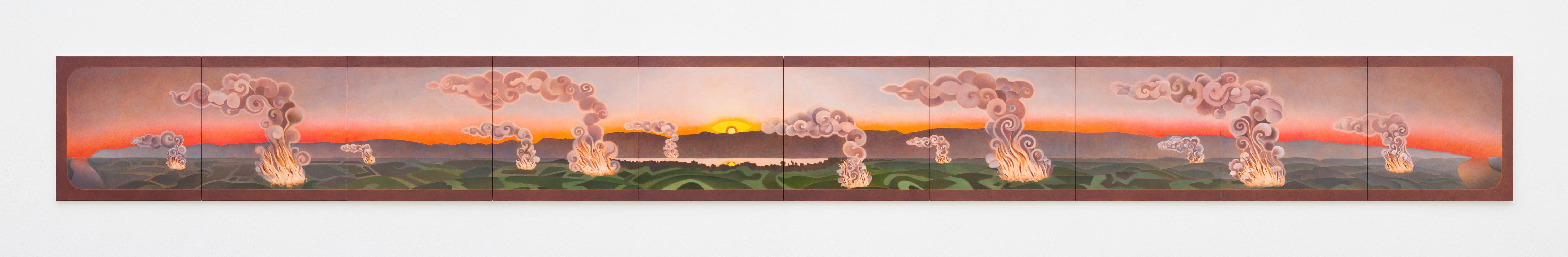 "Gemälde ""58 av. J.-C."" von Caroline Bachmann"